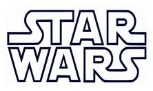 And white clip art. Black clipart star wars