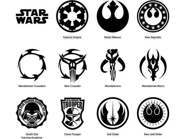 And white google search. Black clipart star wars