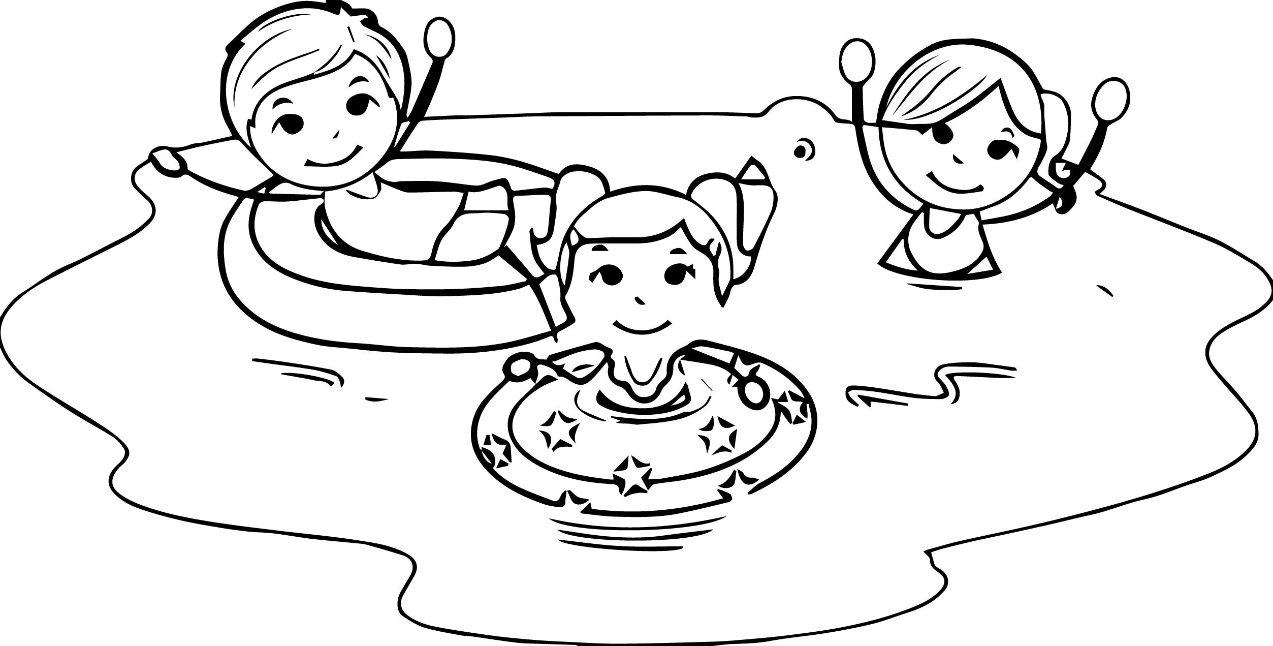 New and white collection. Black clipart summer