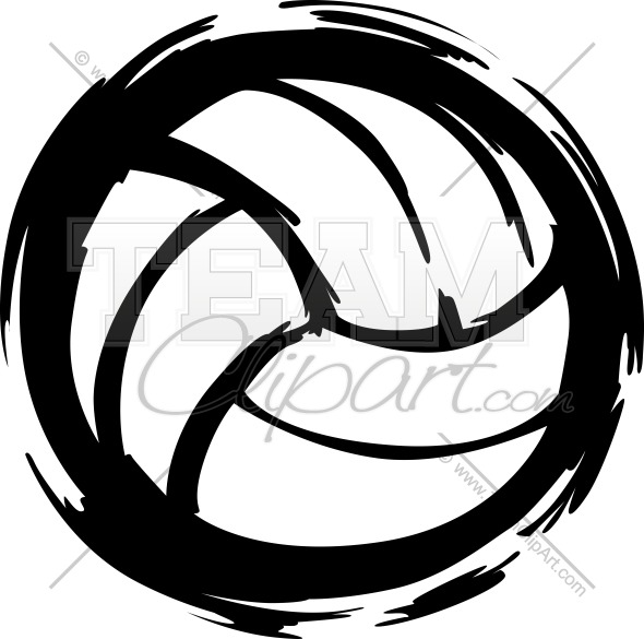 Drawing at getdrawings com. Black clipart volleyball