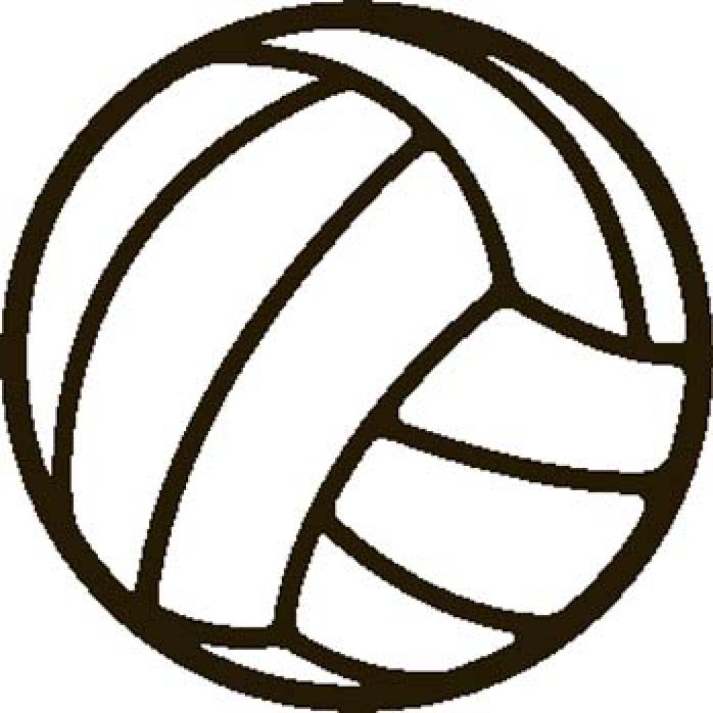 And white crown hatenylo. Black clipart volleyball