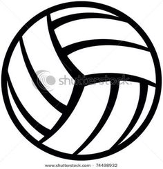 Black clipart volleyball. Awesome and free court