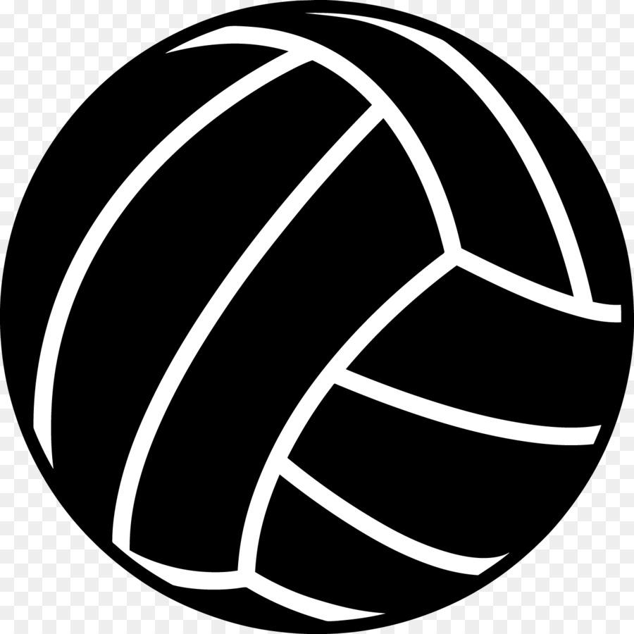 Black clipart volleyball. Beach sport clip art
