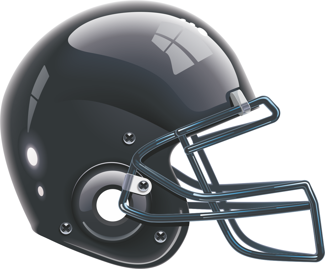 Sturgeon vs bisons ontario. Black football helmet png
