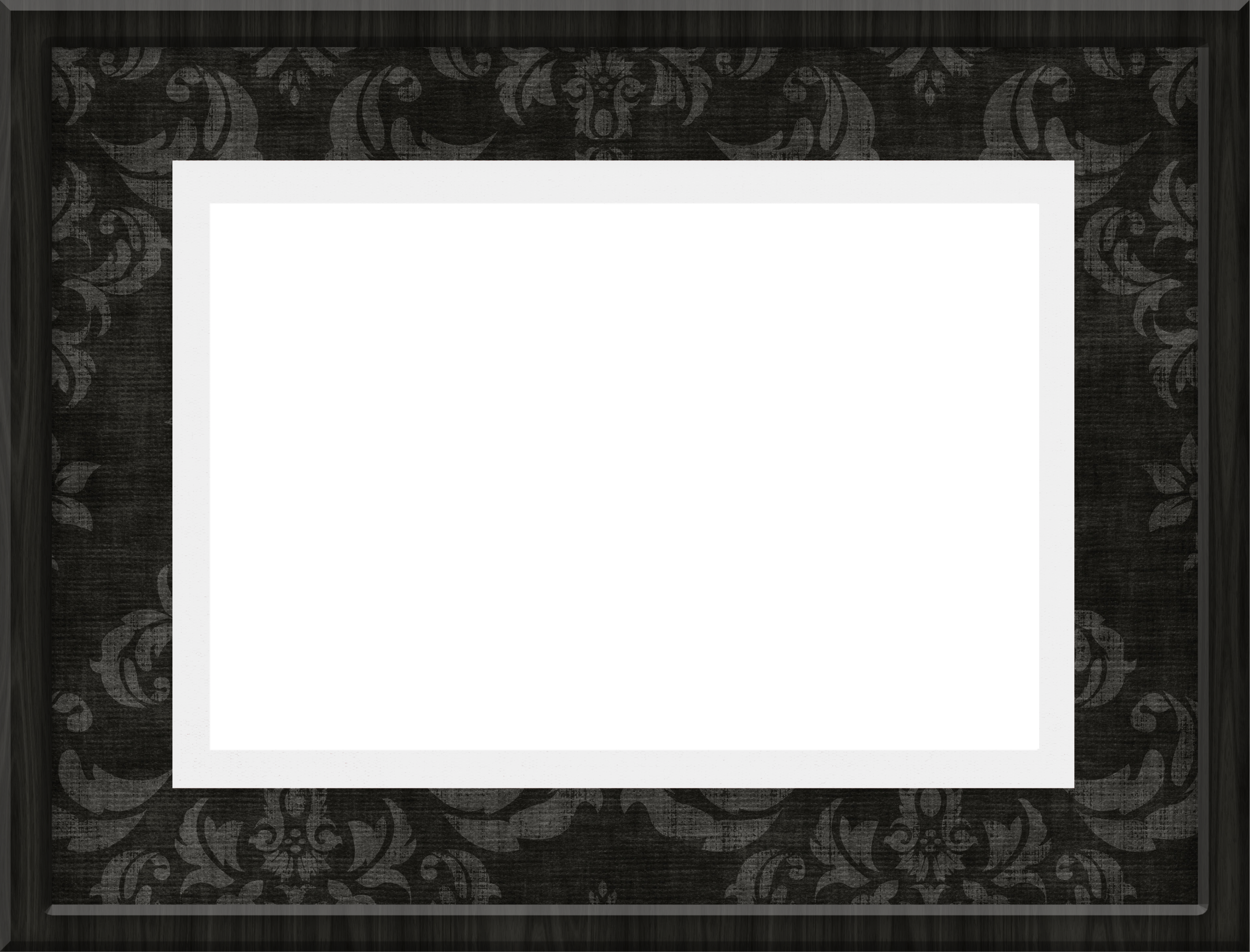Transparent gallery yopriceville high. Black frame png