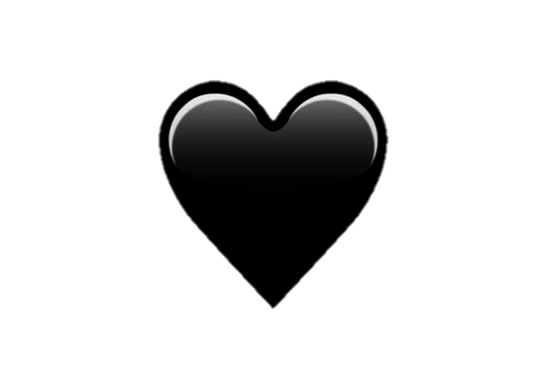 Black hearts png. Transparents uploaded by s