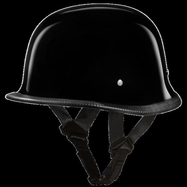 German motorcycle helmets hi. Black helmet png