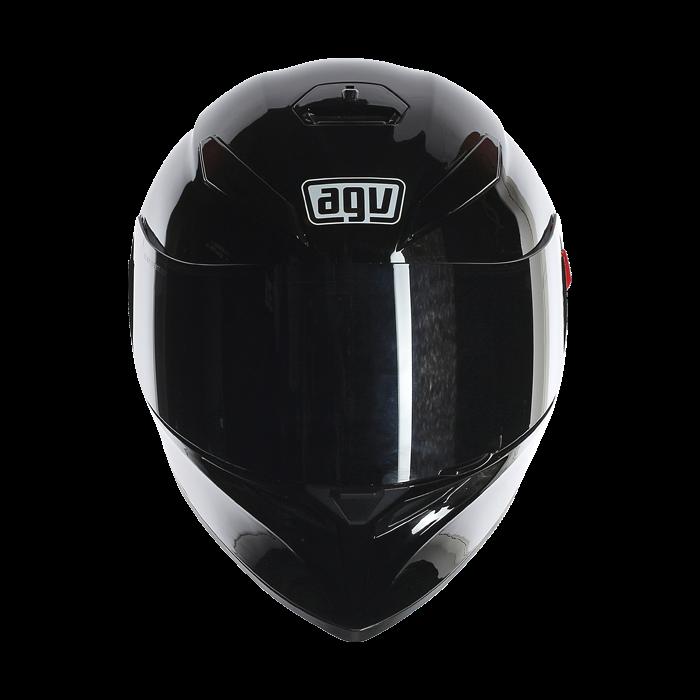 Black helmet png. Agv k sv solid