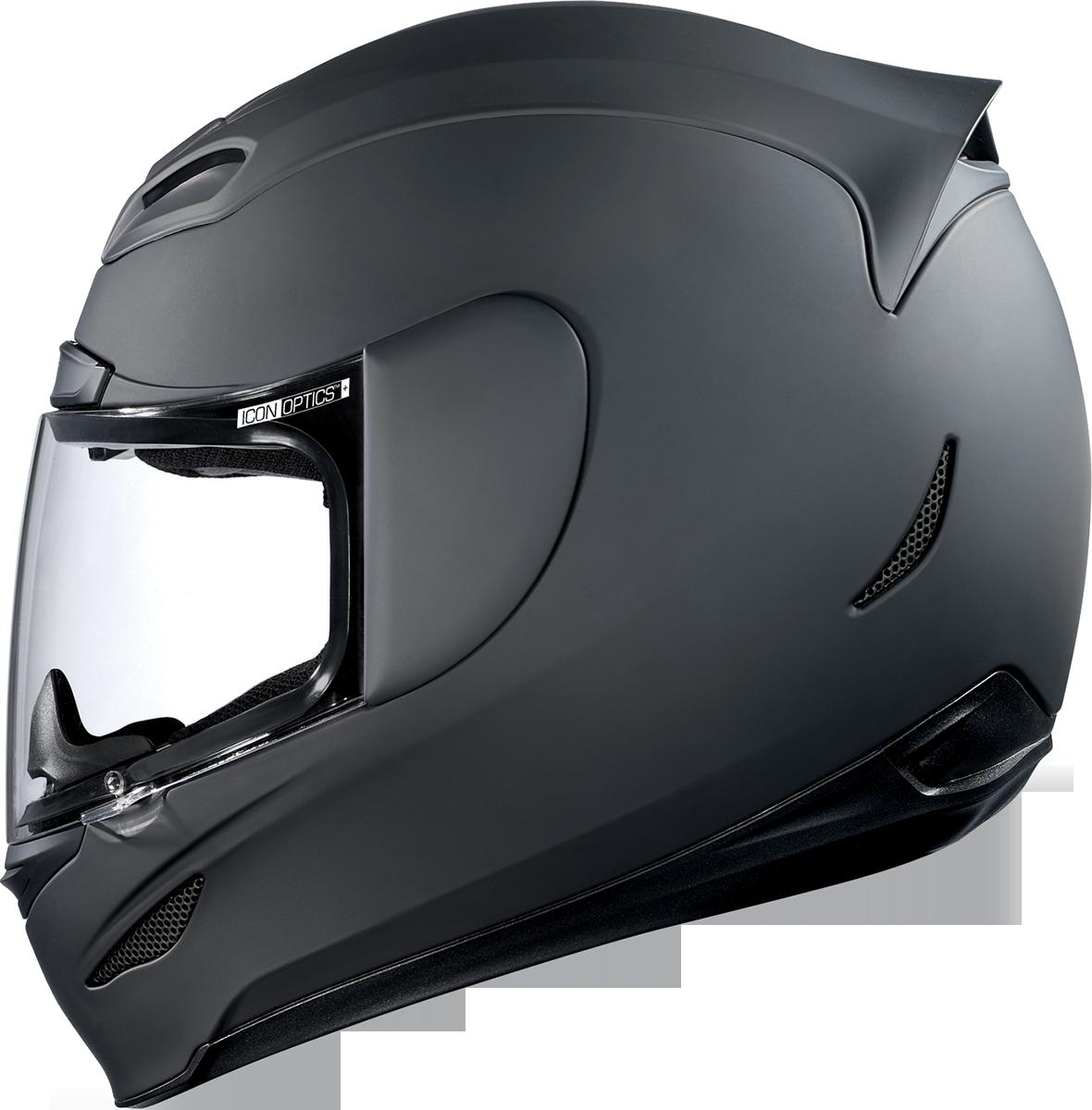 Black helmet png. Icon airmada rubatone motorcycle