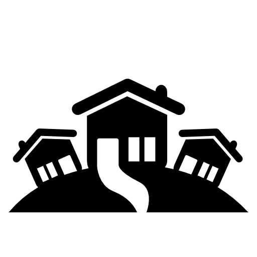 Black house png. Image royalty free stock