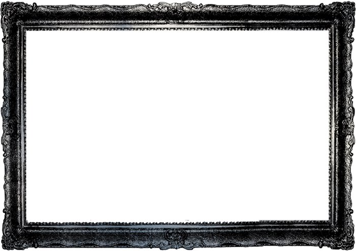 Photo . Black picture frame png