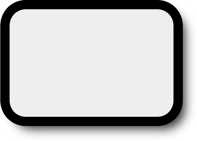 Black picture frame png. Simple outline shadow border