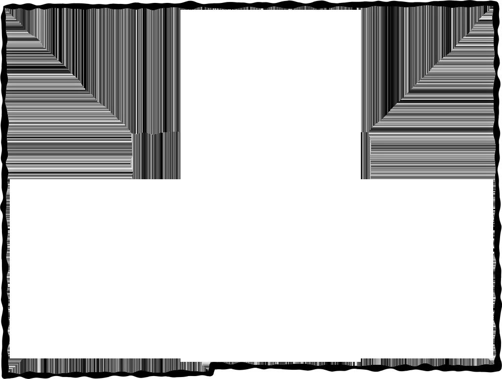 Black png frame. Hardee fancy style maps