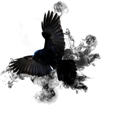Black smoke png. Crow by chloethesleepy on