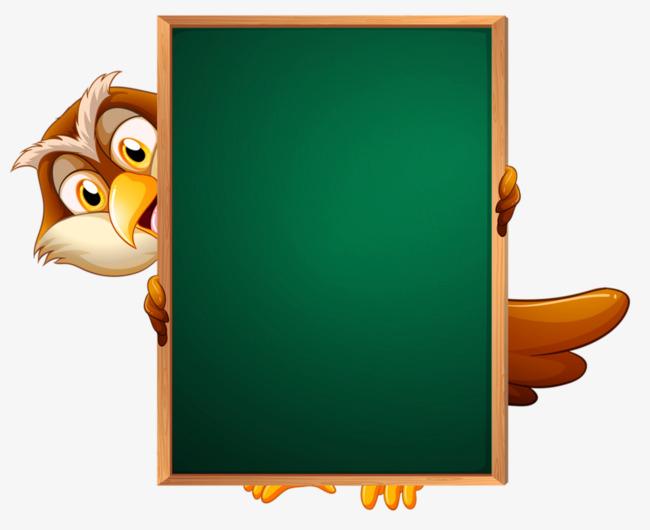 Green chalkboard animal png. Blackboard clipart animated