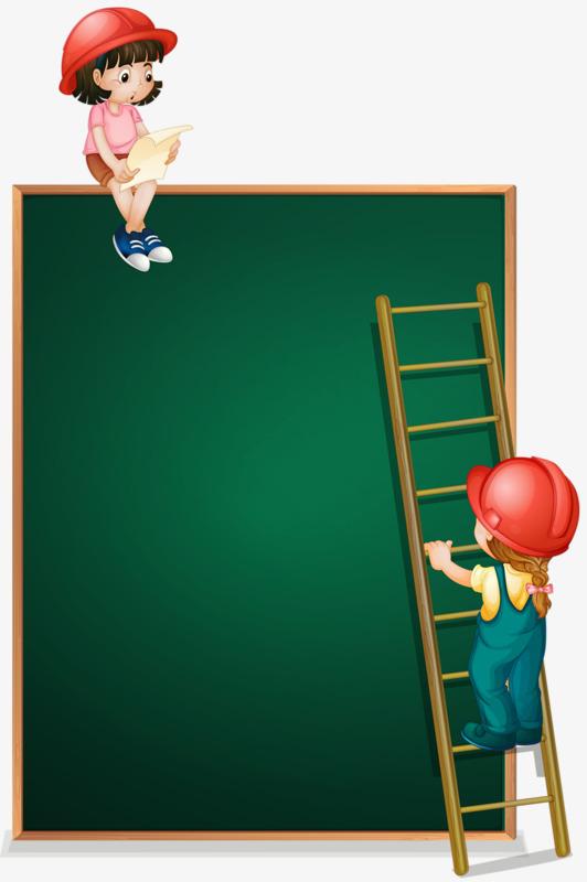 Children ladder png image. Blackboard clipart animated