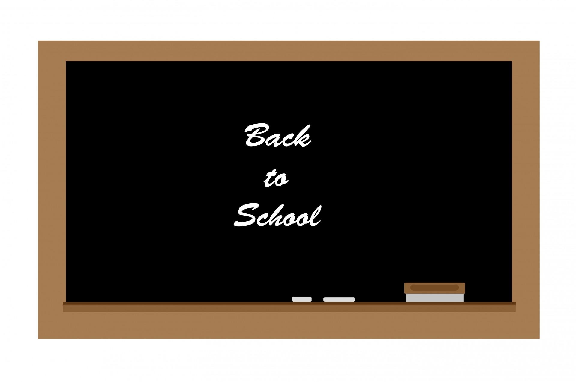 Chalk clipart school. Chalkboard free stock photo