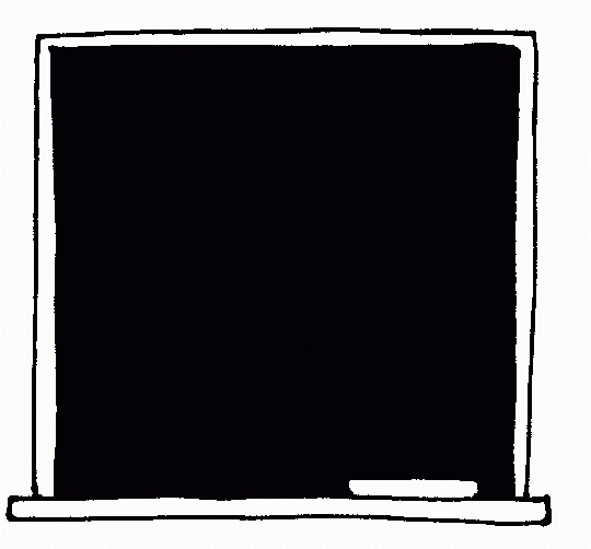 Letters example pertaining to. Blackboard clipart black and white