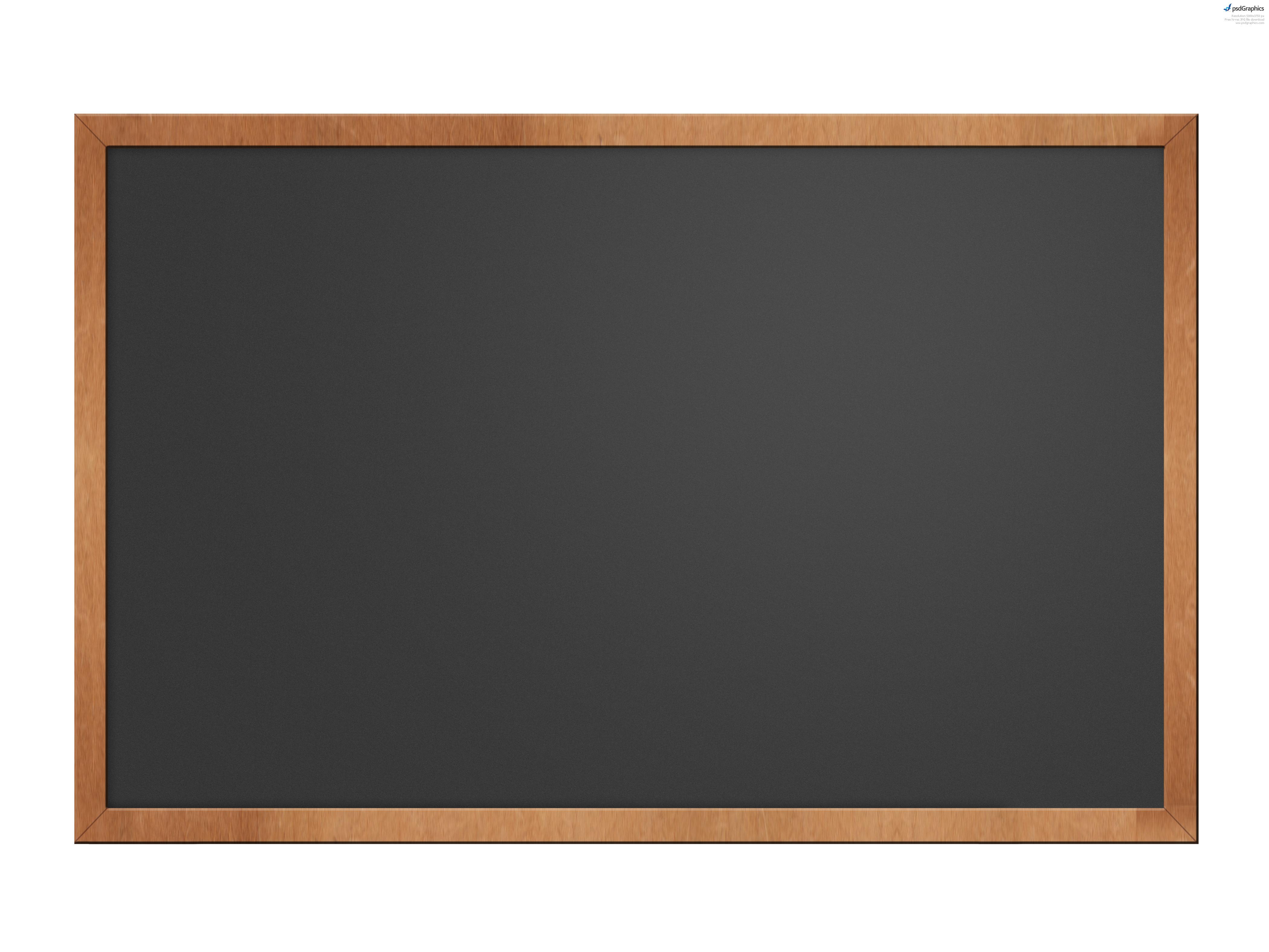 Black chalkboard free . Blackboard clipart blank