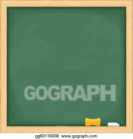 Eps vector green stock. Blackboard clipart blank