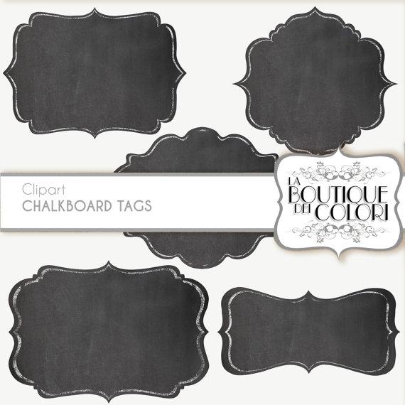 Clip art borders frames. Chalk clipart label