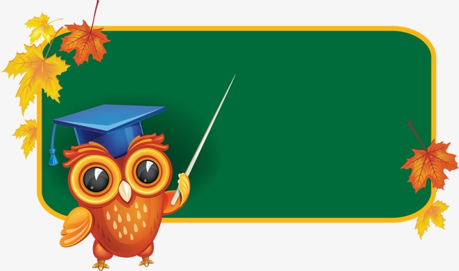 Owl animals teacher png. Blackboard clipart cartoon