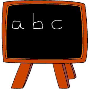 Blackboard clipart chalk. Board free download best