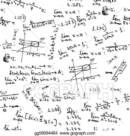 Blackboard clipart college math. Vector art seamless background