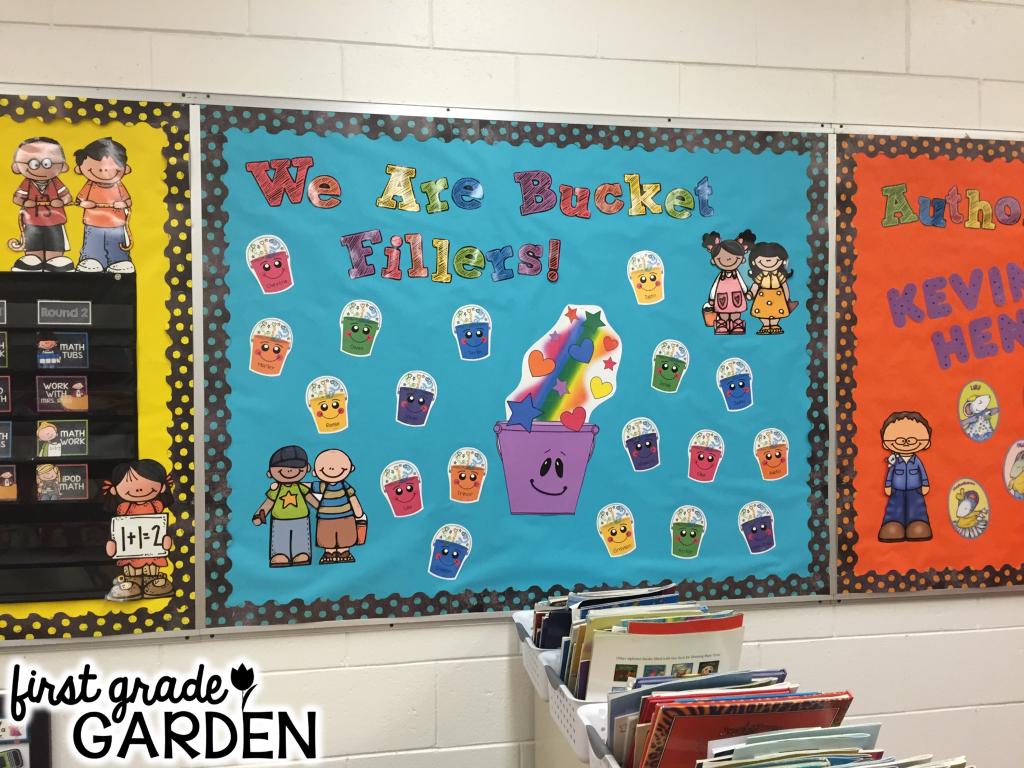 Blackboard clipart display board. First grade garden september