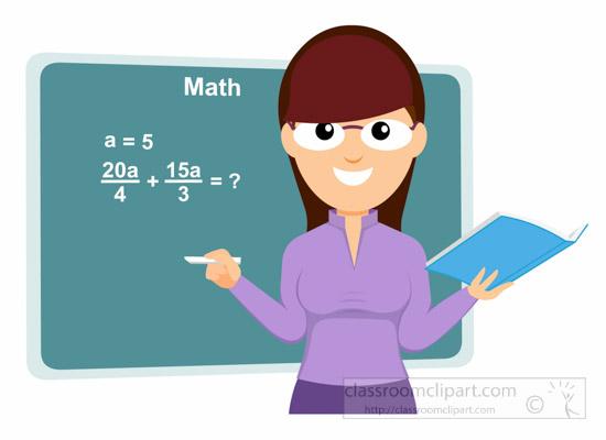 2 clipart teacher. Free mathematics clip art