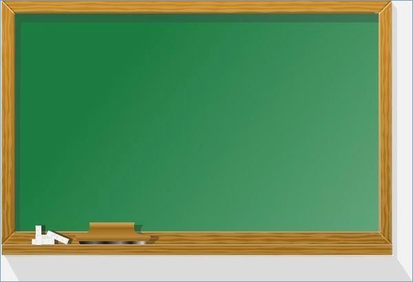 Blackboard green chalkboard