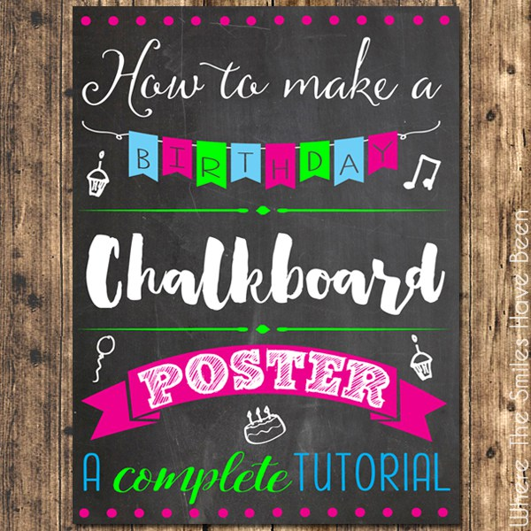 Blackboard clipart message board. How to make a