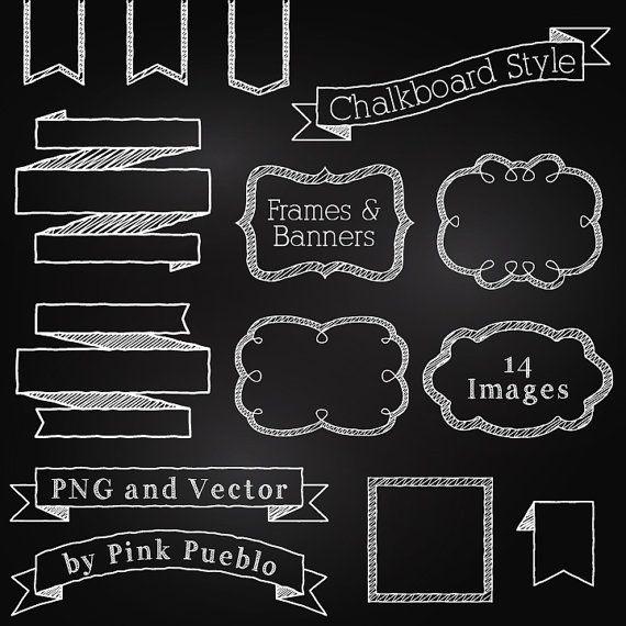 Free disney chalkboard cliparts. Blackboard clipart modern