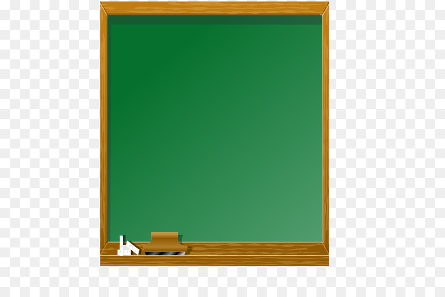 Green background frame . Blackboard clipart school blackboard