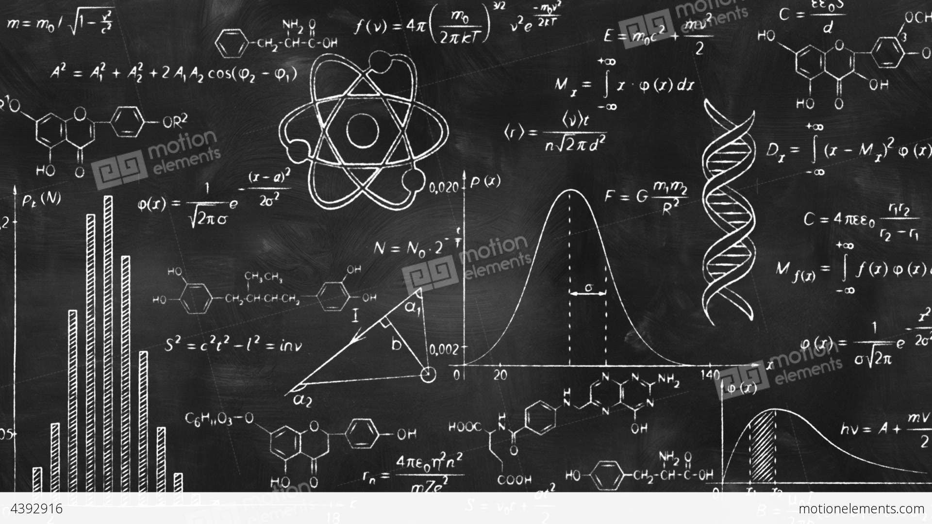 Image result for equation. Blackboard clipart science