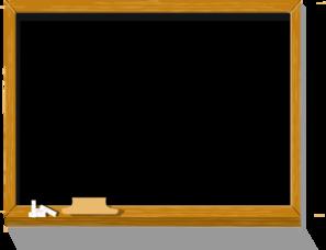 Chalkboard at clker com. Chalk clipart clip art