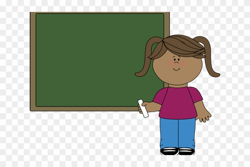 Girl hd png download. Blackboard clipart student