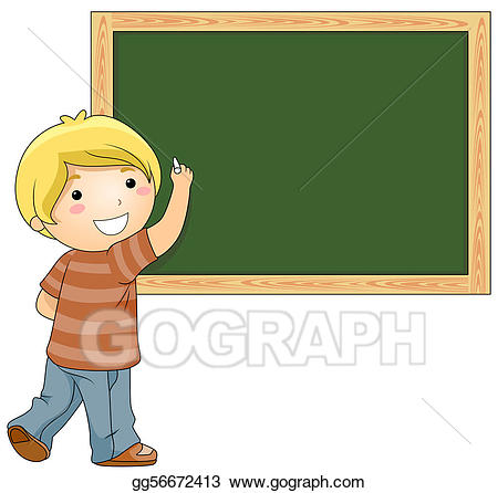 Blackboard clipart student. Drawing gg gograph