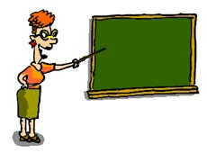 Blackboard clipart teacher. Free pointing at graphics