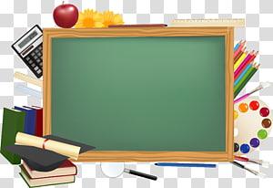 Chalkboard illustration desktop presentation. Blackboard clipart wallpaper