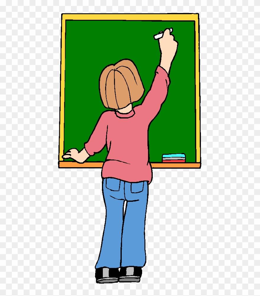 Teach clipart teaching writing. Clean the blackboard learn