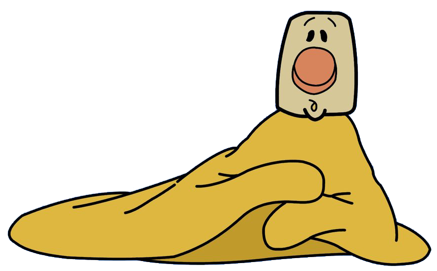 Blanky disney wiki fandom. Clipart sleeping warm blanket