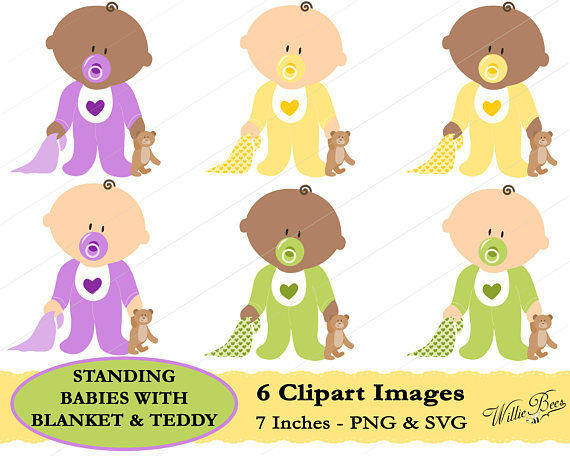 Blanket clipart blankie. Baby with teddy and