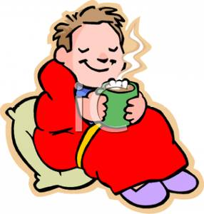 Blanket clipart cartoon. A colorful of boy