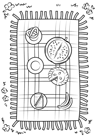 Classic Navajo Chief's Blanket. Coloring page and lesson plan ideas | 480x339
