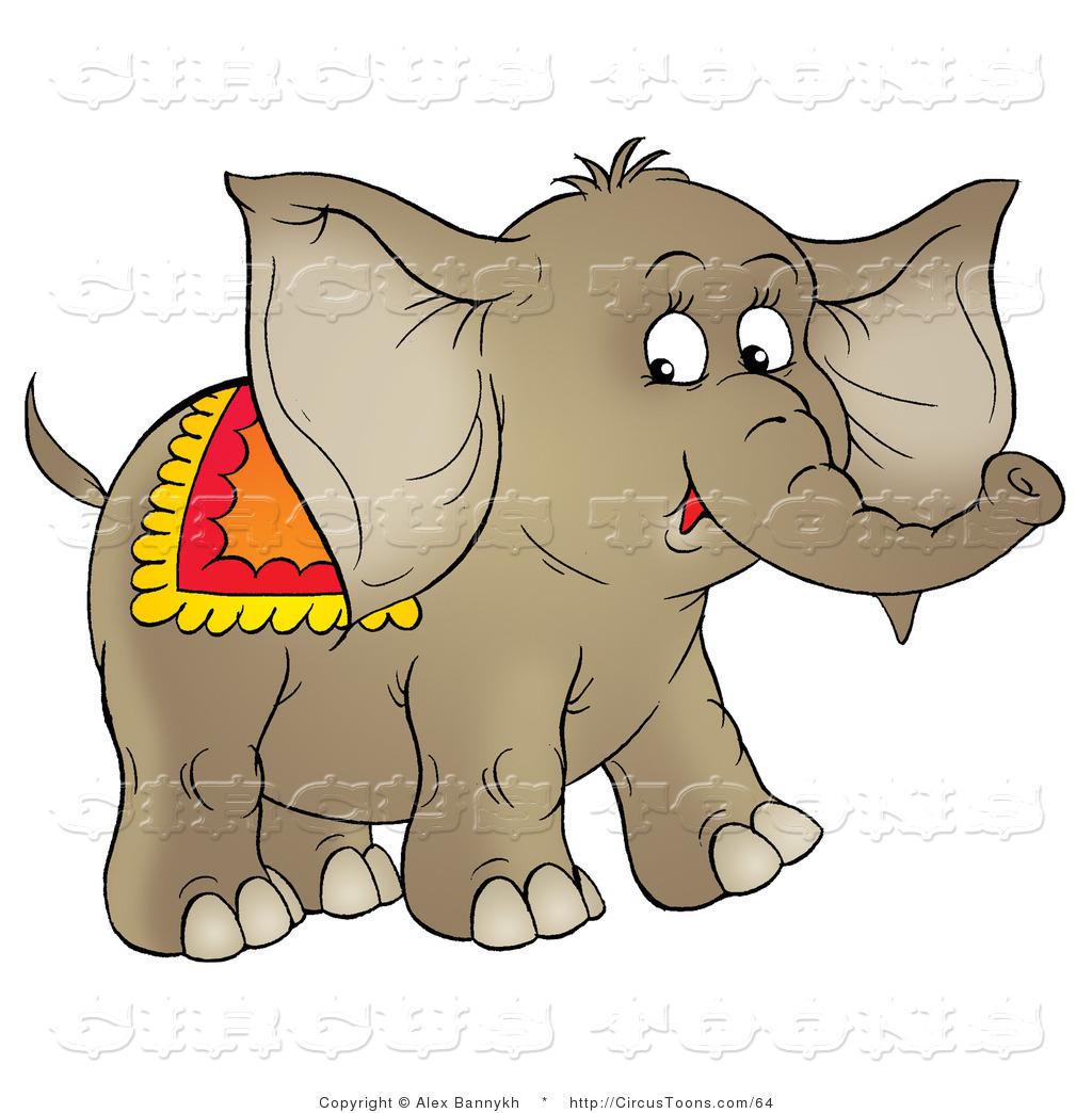 Circus of a brown. Blanket clipart cute
