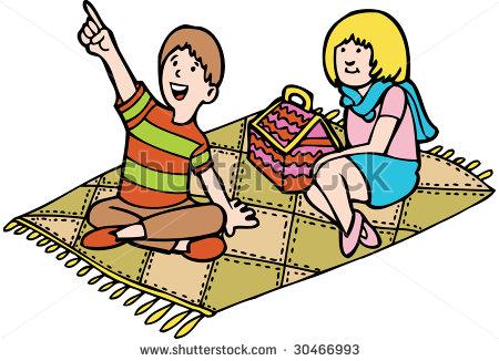 Blanket clipart cute. Mat picnic clip art