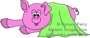 Clip art image of. Blanket clipart cute