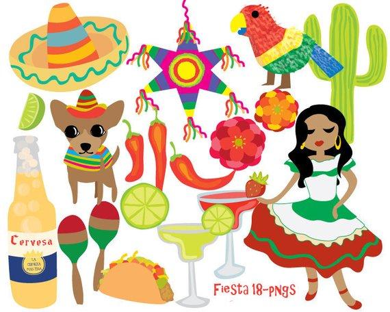 mexico clipart fiesta