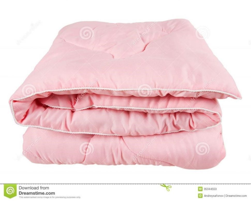 . Blanket clipart folded quilt